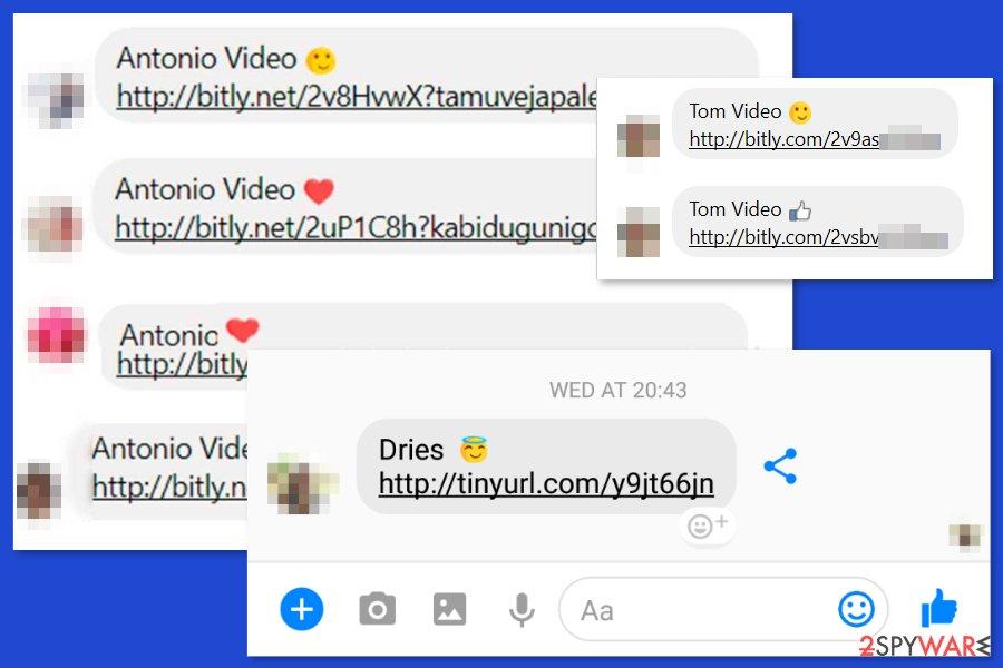 virusi facebook