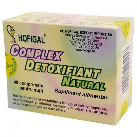 Complex Detoxifiant Hofigal 40cpr