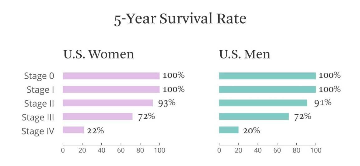 metastatic cancer liver survival rate)