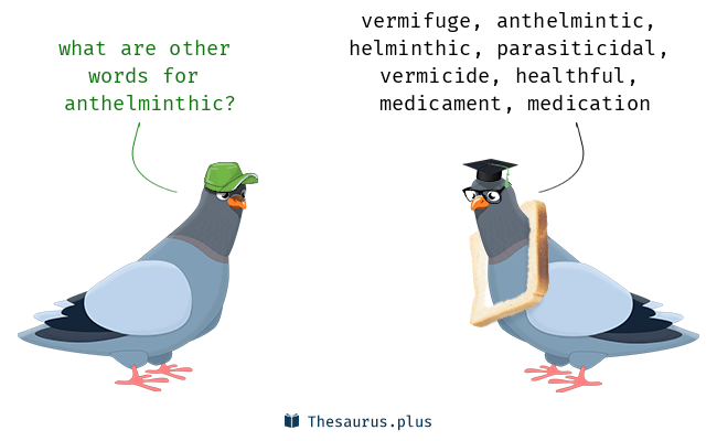 anthelmintic word meaning)