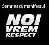 noi vrem respect