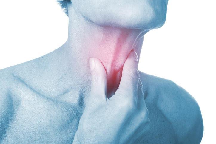 papilloma nella gola