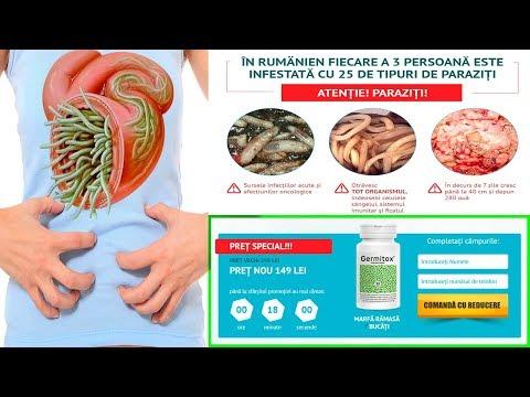 curățarea corpului de paraziți alimentari)