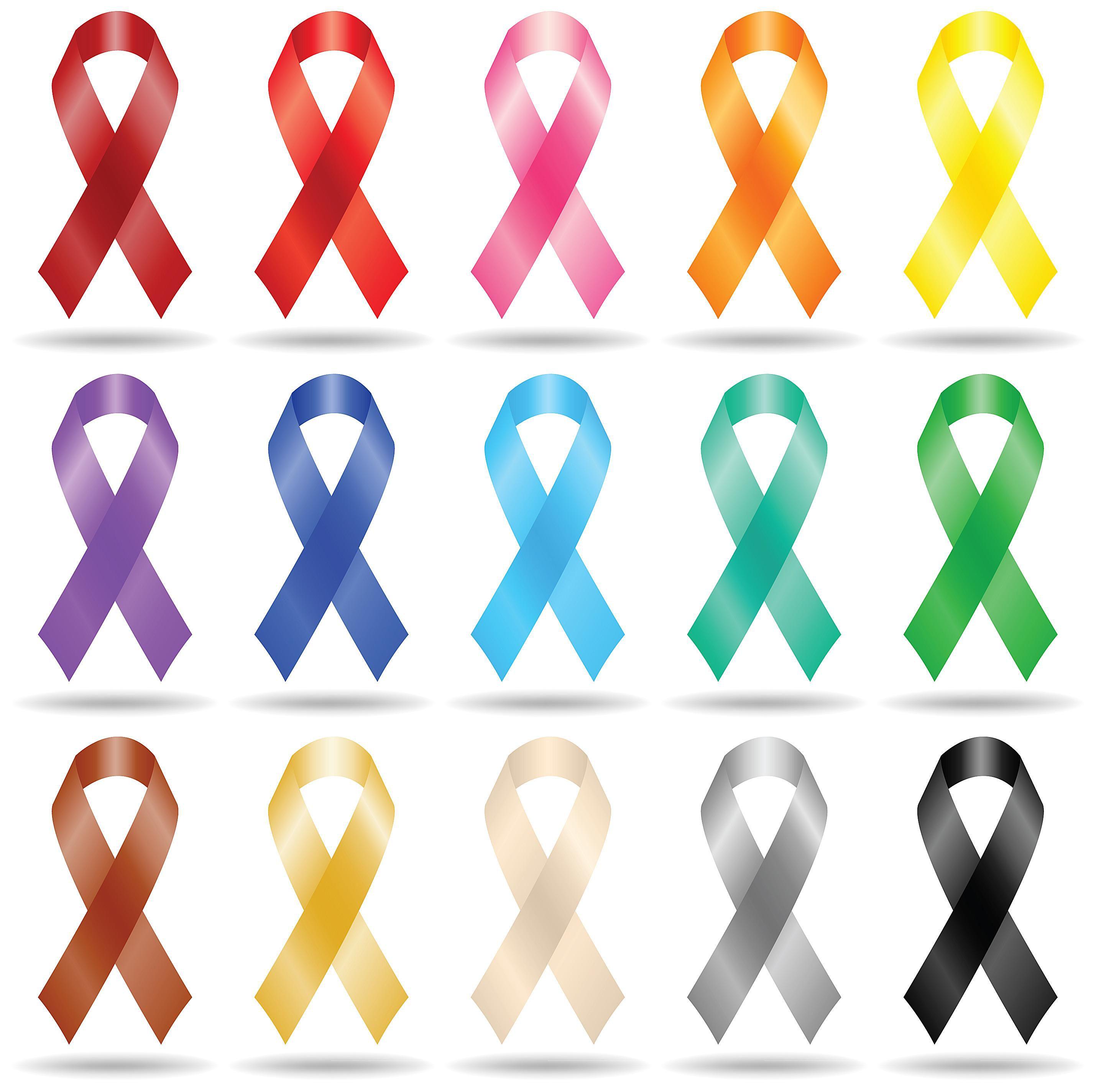 abdominal cancer color