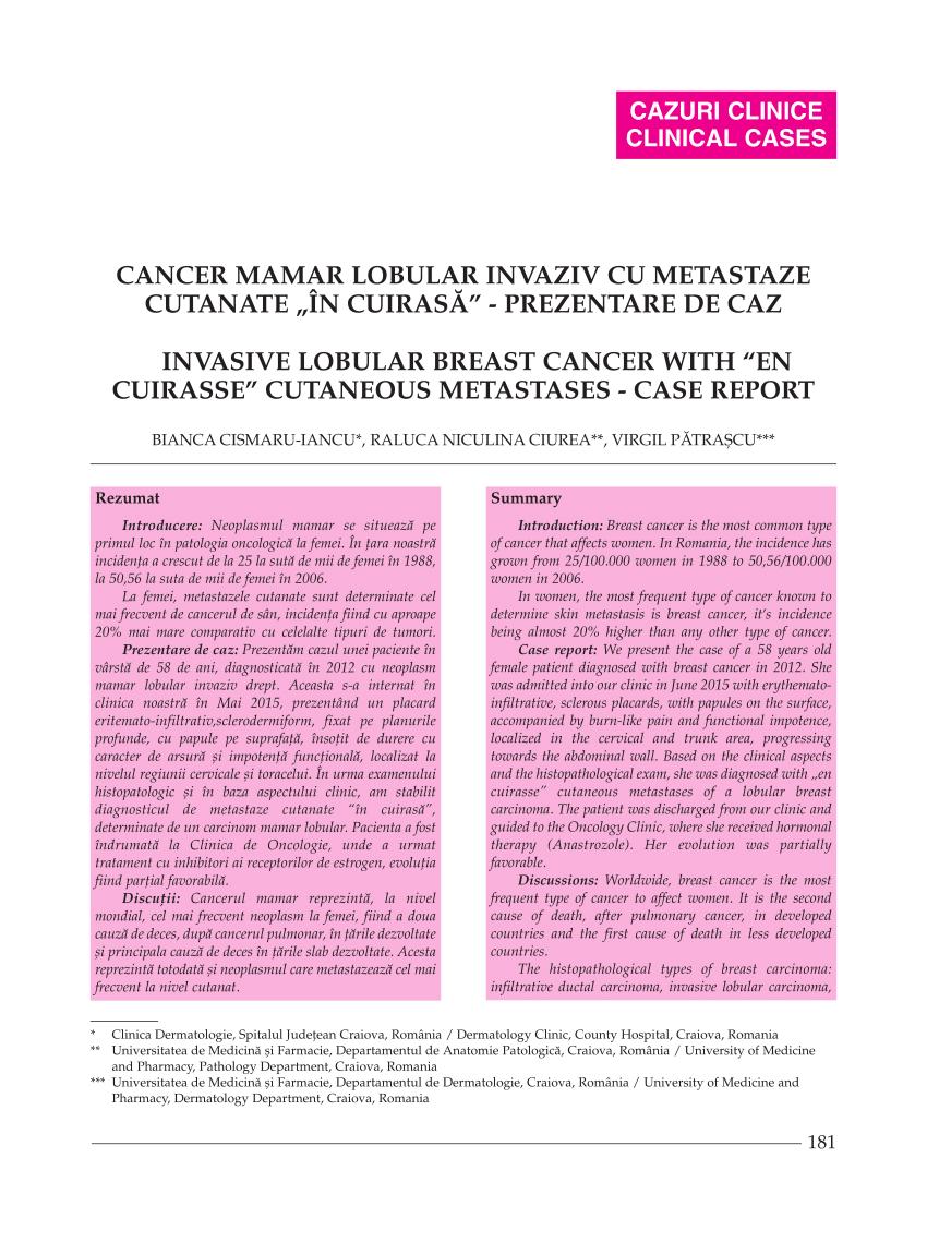 Primăria Capitalei oferă vouchere de 17.000 de lei pacientelor cu cancer la sân pentru teste