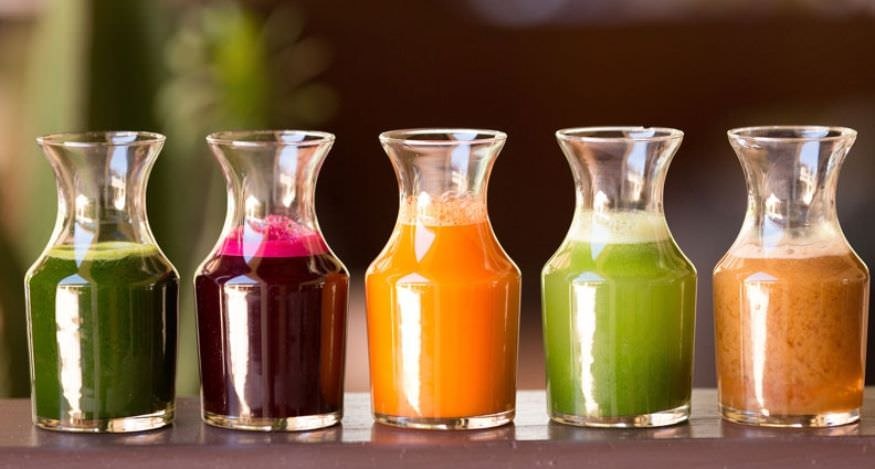 cura detoxifiere cu sucuri