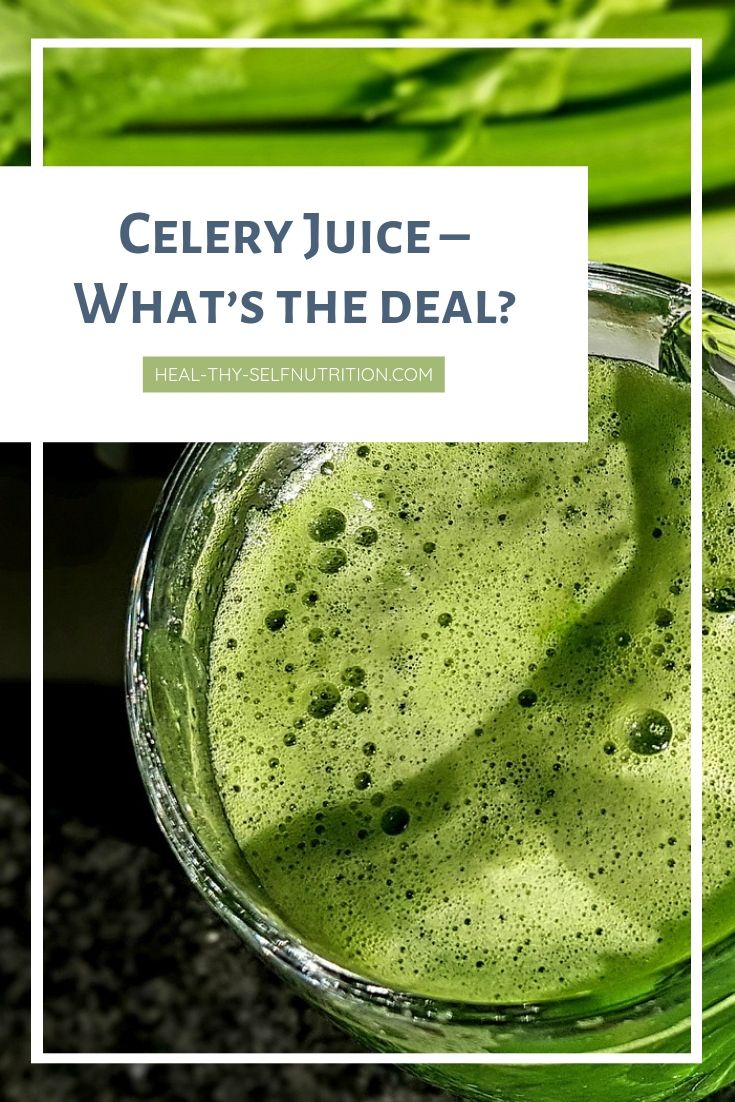 celery juice dysbiosis)