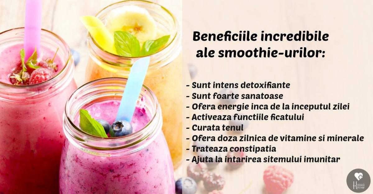 retete de smoothie pentru detoxifiere)