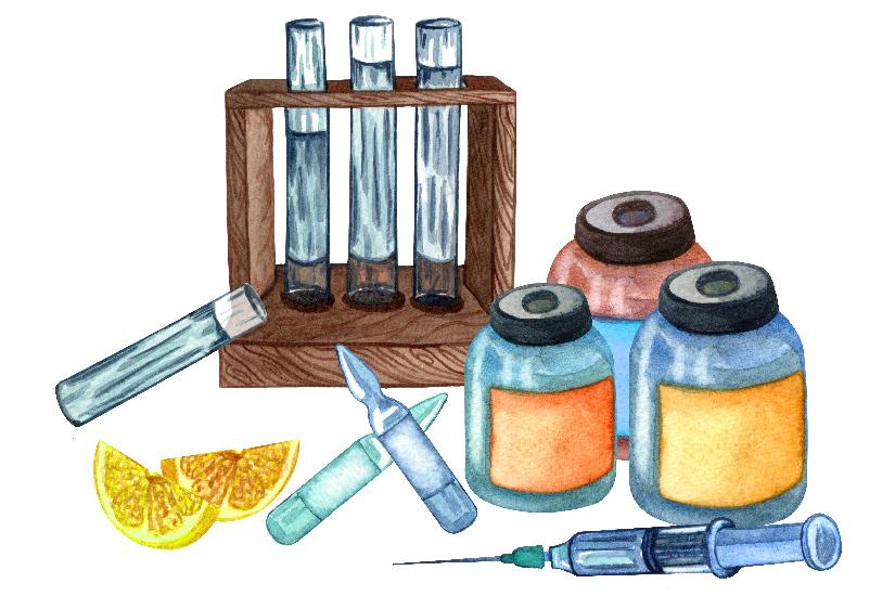 dezinfectare înainte de vaccinare)