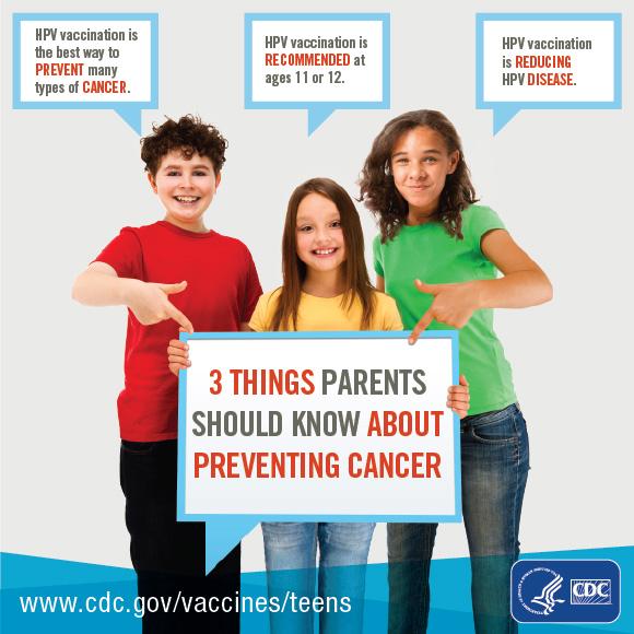 hpv cancer prevention poster)
