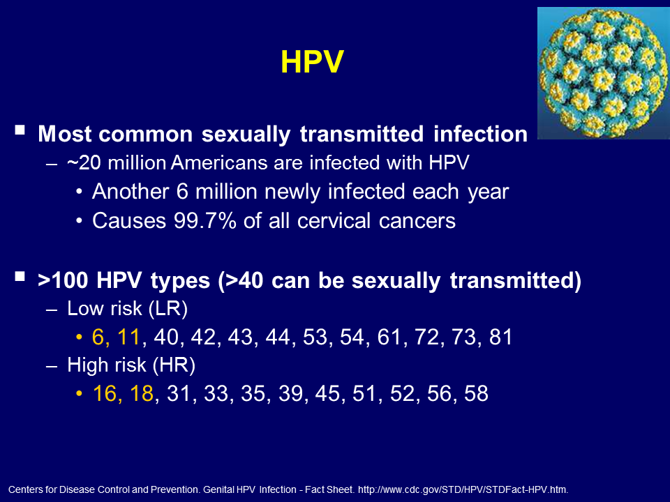 Hpv high risk dna (non 16/18) detected, Hpv high risk detected