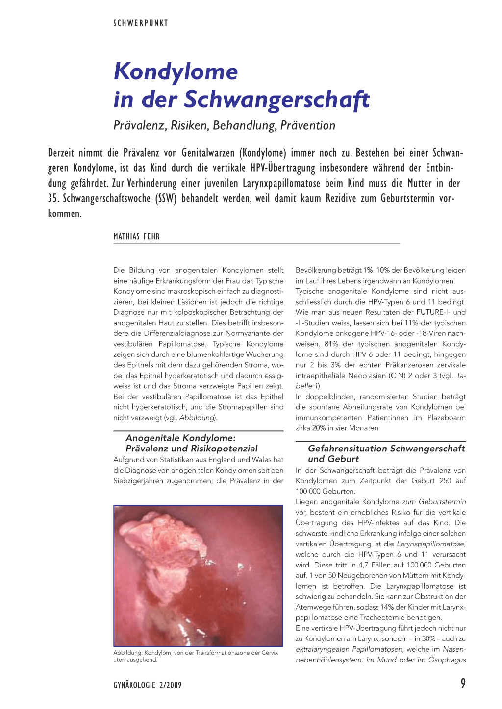 hpv virus und schwangerschaft