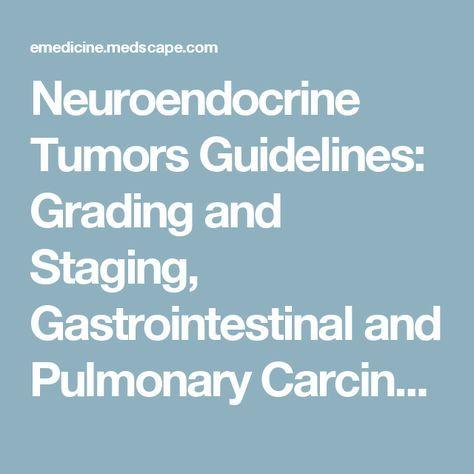 neuroendocrine cancer medscape)