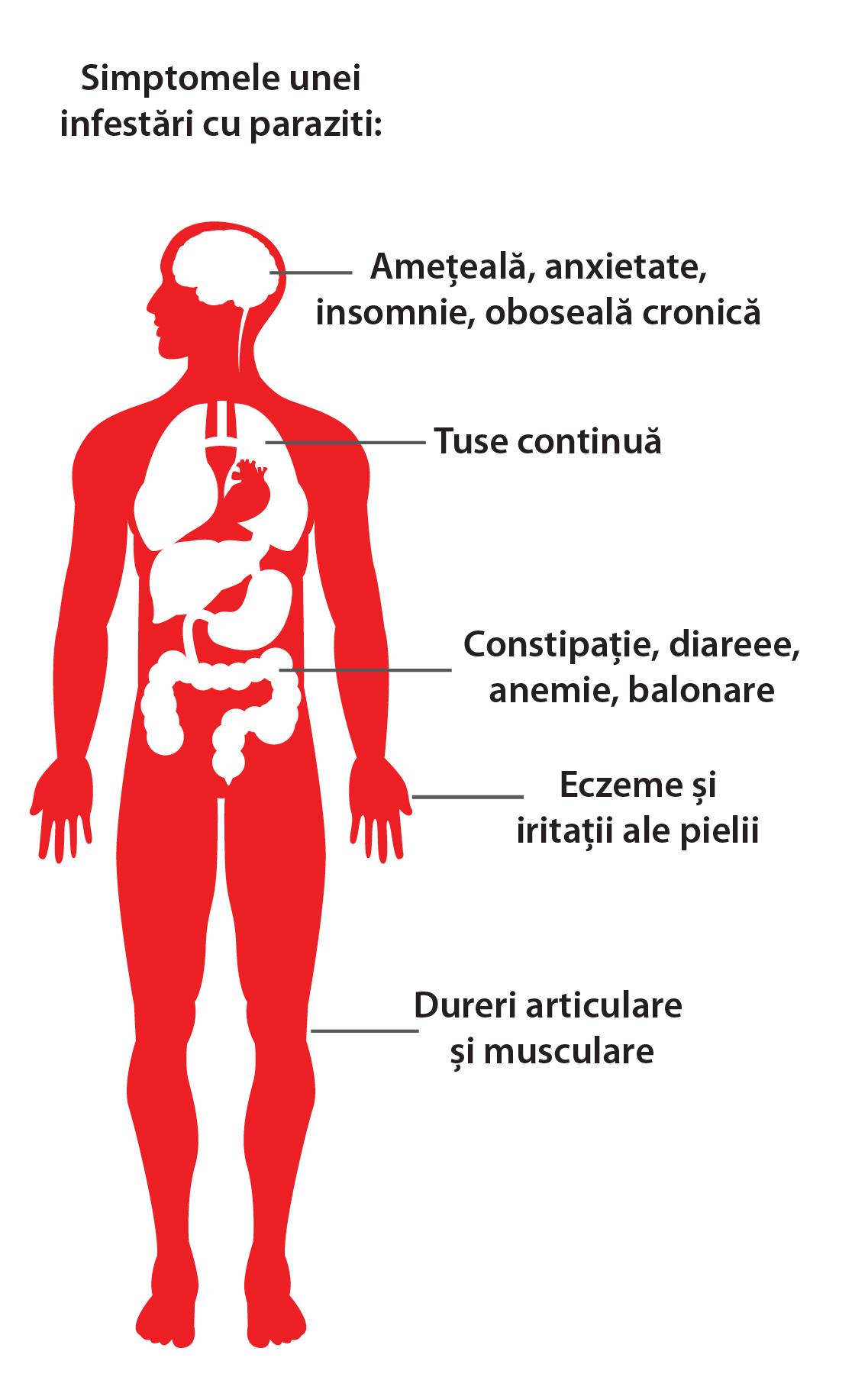 Viermi și reacții alergice, Paraziți Intestinali – Cel mai bun tratament ne-medicamentos, naturist