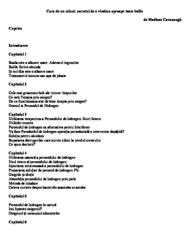 un flux larg în boala umană)